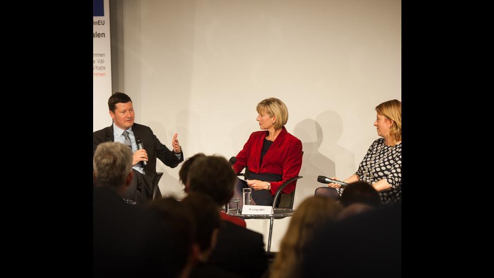 Veranstaltung Brüssel Diskussionsrunde